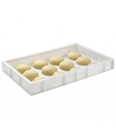 Bac à pâtons 600x400 x H80 mm G179441 Gilac 12 pâtons/bac