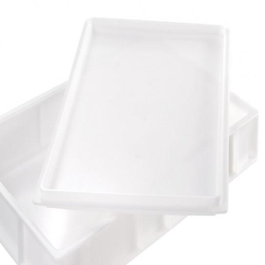 Couvercle pour bac à pâtons 600x400 mm Gilac blanc G179221