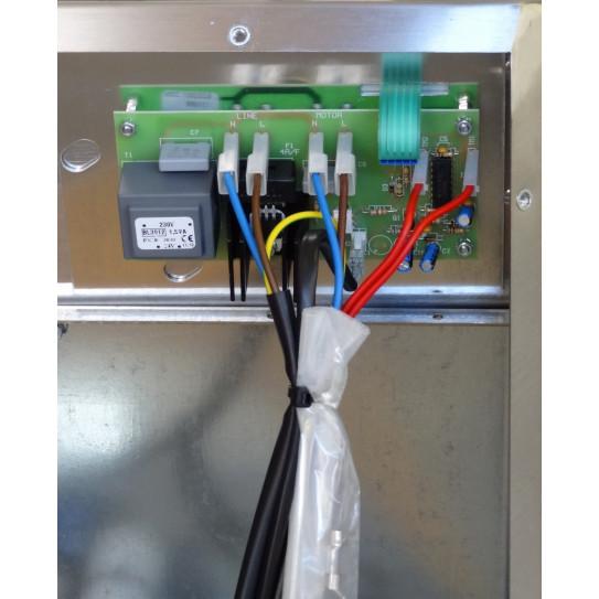 Connexion de la nappe broche du clavier sur carte électronique laminoir pizza IGF