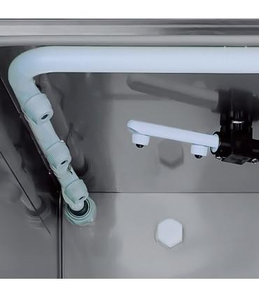 Lave-verres 35x35 STEEL330 COLGED NOSEM bras et rampe lavage supérieure
