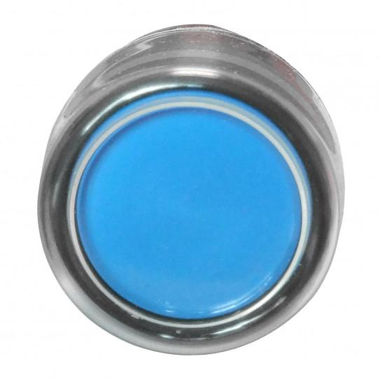 Bouton poussoir bleu pour façonneuse pizza IGF 2300/B40 et 2300/B30 - 2300/B30Z06 et 2300/B40Z06