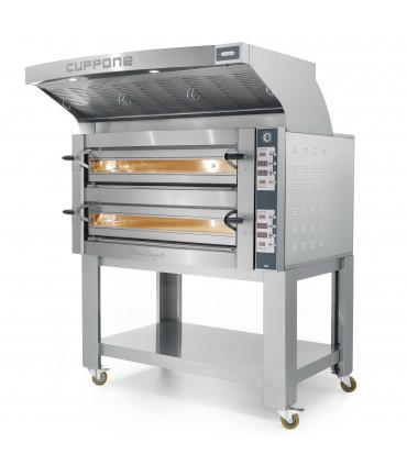 Four pizza électrique Michelangelo ML635L/2-DG Cuppone + Options Support et Hotte