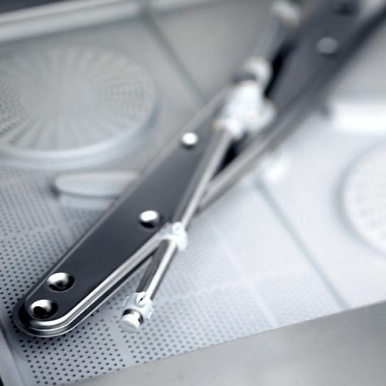 Détail bras de lavage inférieur inox lave-vaisselle 50x50 STAR605DGPV STARTECH COLGED NOSEM