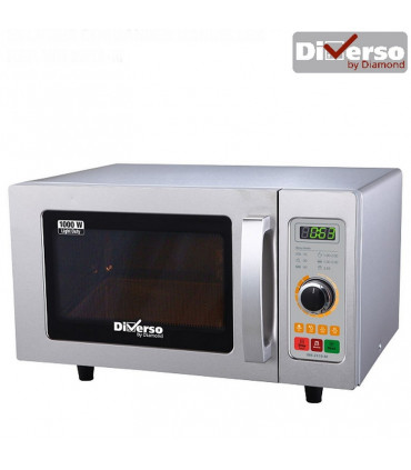 Four micro-ondes inox 1000W 25L