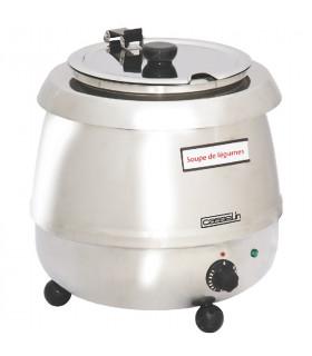 Soupière électrique inox professionnelle 9 litres - CMS3 Casselin