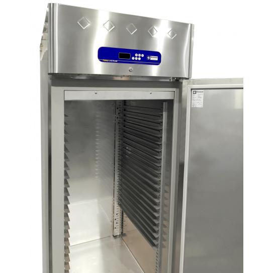 Armoire de congélation ventilée -10°/-20°C pâtissière 600x400 tropicalisée inox 1 porte - AP1B/L64