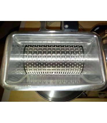 Rouleau inox RMI Ø 75x140 mm FAMA GS / GSM. Bouche de charge 140x80x80mm