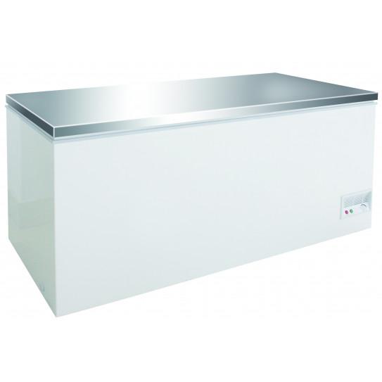 Congélateur bahut 768L couvercle en inox -17/-24°C - 7450.0172 Combisteel