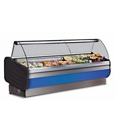 Vitrine réfrigérée de comptoir 2000 (2m) - Froid statique