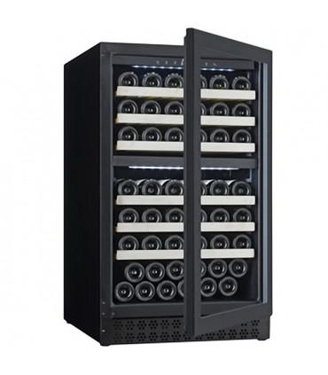 Cave à vins maxi 78 bouteilles de Ø 75 mm - CAV88D L2G