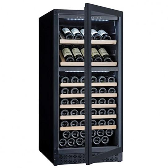 Cave à vins maxi 102 bouteilles de Ø 75 mm - CAV120D L2G