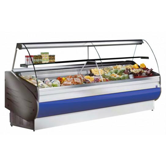 Vitrine réfrigérée de comptoir 2000 + étagère intermédiaire