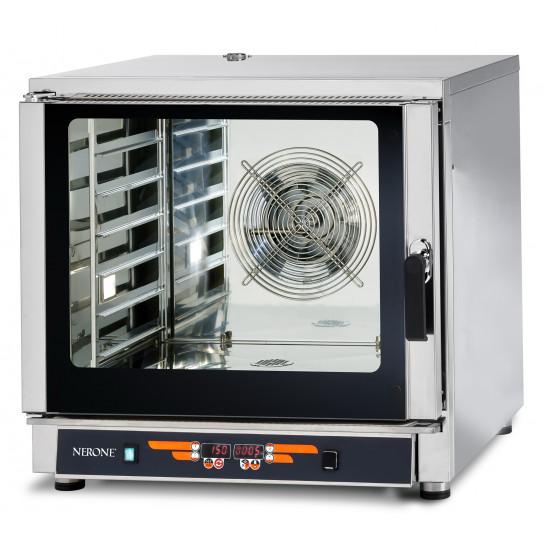 Four mixte 6 niveaux 60x40 ou GN1/1 vapeur à injection directe VESUVE 6TG NERONE VULCAIN-6