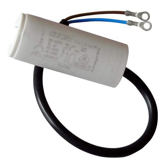 Condensateur 10 µF laminoir 2300 IGF ICAR Italy Ecofill