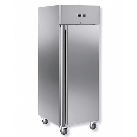 Armoire froide réfrigérée positive 650L GN2/1  -2ºC/+8ºC - 1 porte inox GN650TN - L2G