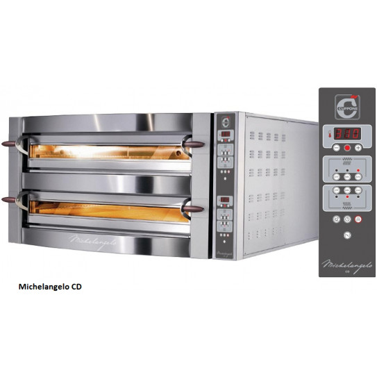Four pizza électrique Michelangelo ML435/2-CD Numérique Cuppone