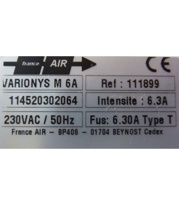 Variateur électronique 6A mono caractéristiques.