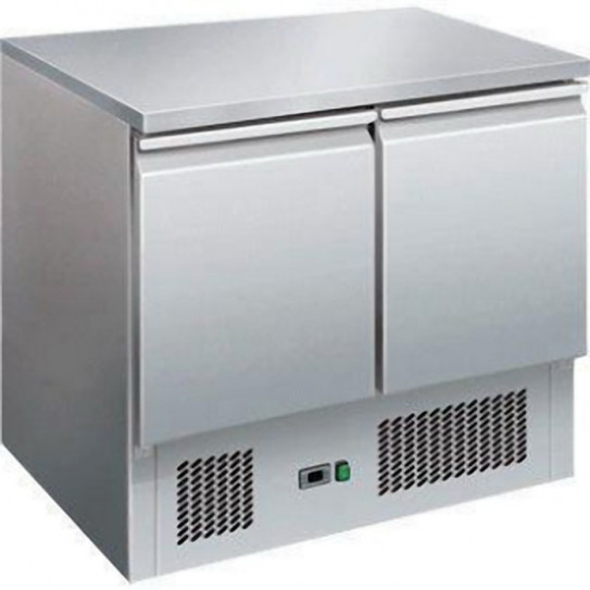 Table saladette dessus inox S901S/STOP marque L2G