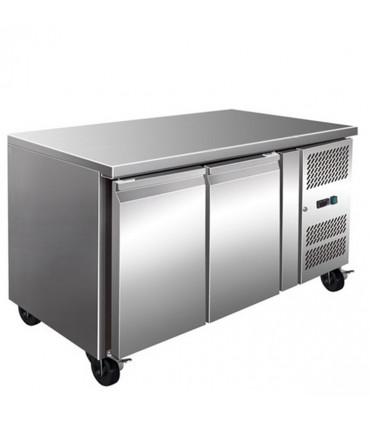 Desserte réfrigérée centrale 2 portes 1360x700 Inox - GN2100TN L2G