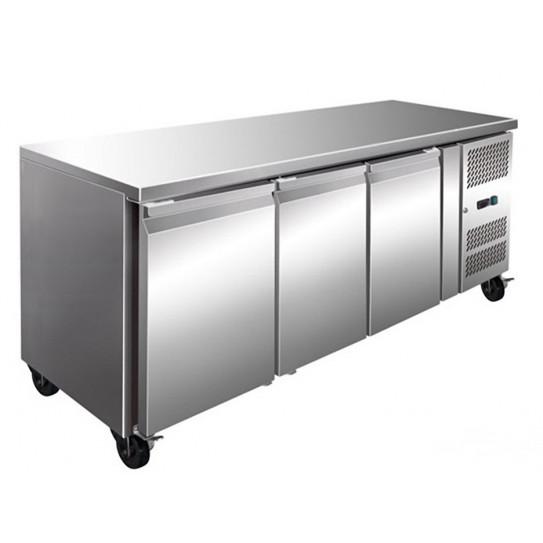 Tour pâtissier réfrigéré ventilé inox 3 portes 2020x800 PA3100TN