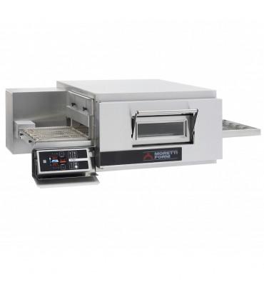 Four à pizza convoyeur électrique T75E/LCD Moretti Forni Tapis largeur 500