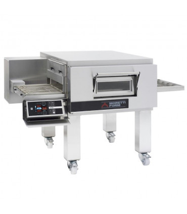 Four pizza Moretti convoyeur électrique T75E/LCD