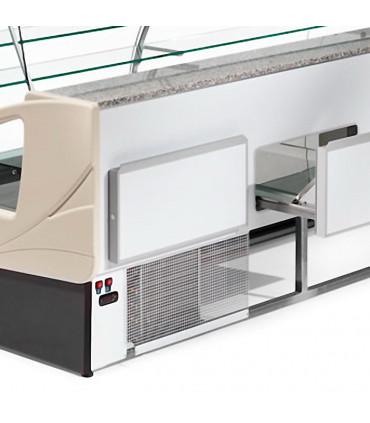 Tiroir comptoir vitrine réfrigérée 1400x980xH1237mm 4 niveaux - UT14/A4 DIAMOND