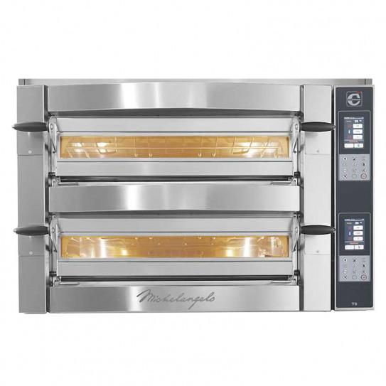 Four pizza électrique Michelangelo ML635L/2-TS Touch-Screen Cuppone