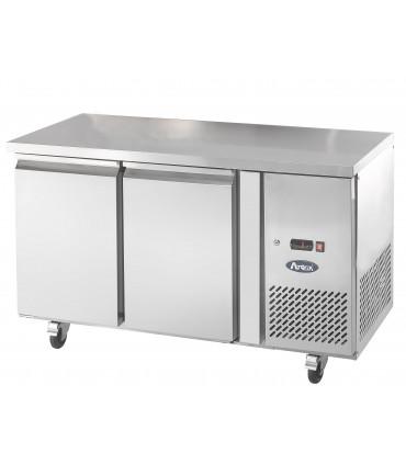 Desserte 600 réfrigérée 2 portes Froid positif ventilé Tropicalisé Table Snack EPF3421 Atosa