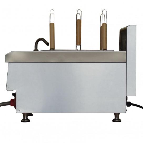 Cuiseur à pâtes électrique top de table 15L 5,4kW - Vue latérale
