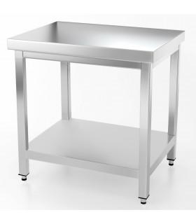 Table inox 1000x700 centrale AISI304 + 1 sous tablette BUD-DCTCE107 L2G THATS107