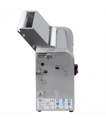 Super Dérouleuse à rouleaux inox polis vue latérale IGF 3200/LM42