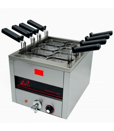Cuiseur à pâtes électrique 15 L Top - 8 paniers GN1/8 - SOFRACA 21242