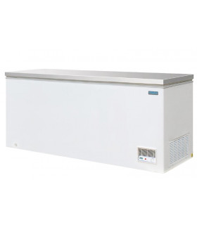 Congélateur bahut professionnel 2000 x 690 x H850 mm couvercle en inox CM532 POLAR