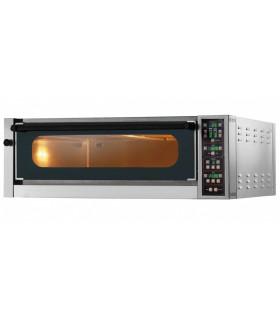 Four pizza électrique GAM ME4 TOP chambre entièrement réfractaire à commandes électroniques, 1 élément superposable
