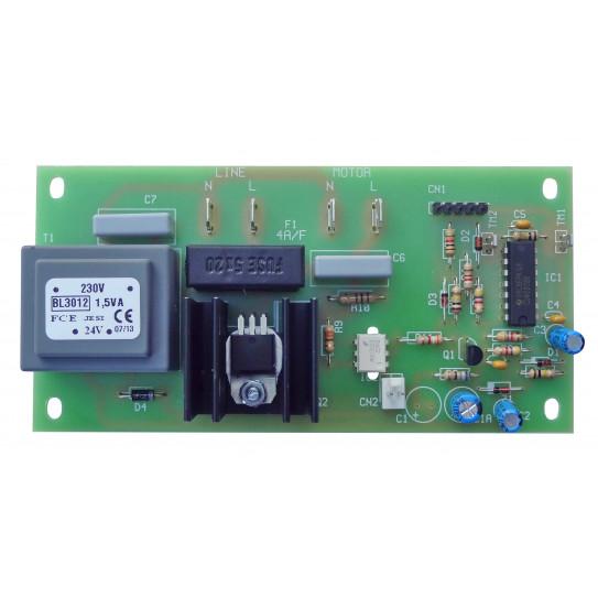 Ancienne carte électronique de puissance pour façonneuse pizza IGF 2300 L40 L30 ou GAM - Dim plaque ≃ 125x62mm