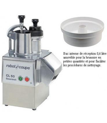 CL 50 Gourmet coupe-légumes Robot-Coupe + bac interne de réception
