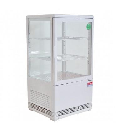Vitrinette réfrigérée 58 litres 4 faces vitrées Bartscher