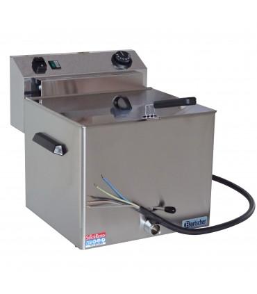 Friteuse électrique professional 11L triphasée 400V 8,1kW RM Gastro / Bartscher