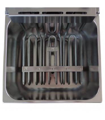 Friteuse électrique professional 11L triphasée 400 V resistance 8,1kW RM Gastro / Bartscher