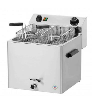 Friteuse électrique 8,1kW pro triphasée 11 L modèle 2 paniers