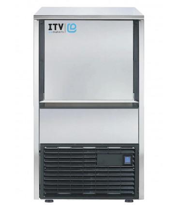 Machine à glaçons 31kg/24h Tropicalisée ITV Q30CA