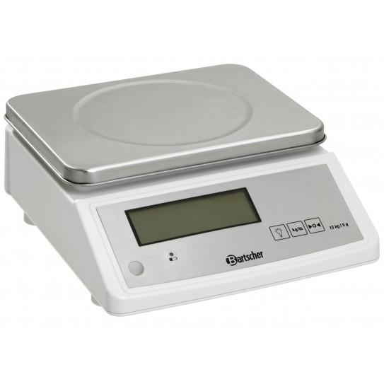 Balance de cuisine électronique professionnelle. Tarage max. 15 kg - Division 5 g