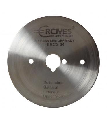 Couteau ERCIYES lame lisse aiguisable diamètre du disque 80 mm - ERCS 04