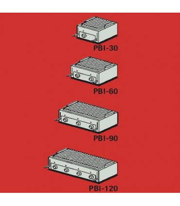 PBI-30-60-90-120 divers modèles Grill Charcoal Parrillas gaz Mainho inox pierres volcaniques