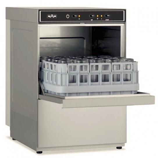 Lave-verres panier 40x40 cm + adoucisseur incorporé MBM LB406A Dim 44x53x67 cm