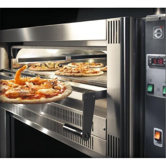 Four pizza gaz CUPPONE contrôle digital détails du modèle GS9/33