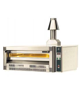 Four pizza gaz CUPPONE superposable contrôle digital 9 pizzas Ø 33 cm 24kW - Cheminée en option - GS9-33