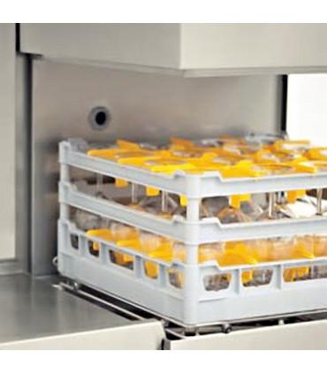 La grande ouverture de 42 cm le rend adapté au lavage de verres... Lave-vaisselle à capot MBM LK605