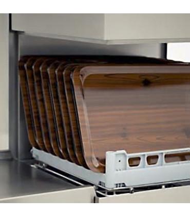 La grande ouverture de 41 cm le rend adapté au lavage de verres... Lave-vaisselle à capot MBM LK605